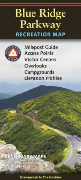 Blue Ridge Parkway Recreation Map