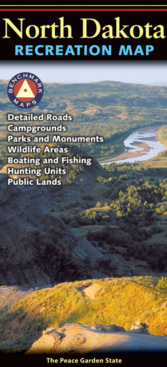 North Dakota Recreation Map