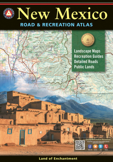 New Mexico Road & Recreation Atlas