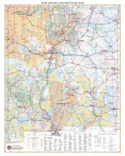 New Mexico Recreation Wall Map
