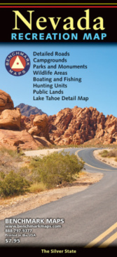 Nevada Recreation Map