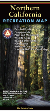 Northern California Recreation Map