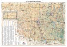 Oklahoma Recreation Wall Map