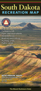 South Dakota Recreation Map