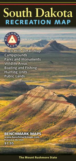 South Dakota Recreation Map