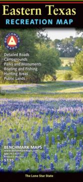 Eastern Texas Recreation Map