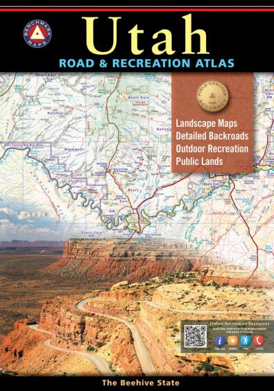 Utah Road & Recreation Atlas