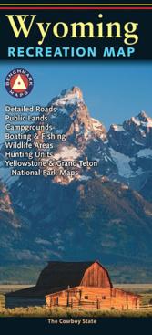 Wyoming Recreation Map