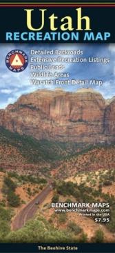 Utah Recreation Map