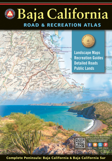 Baja California Road & Recreation Atlas